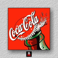 Hiasan Dinding Vintage Coca Cola Tutup Botol