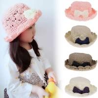 VANKER Topi Jerami Princess Handmade untuk Pantai / Musim Panas