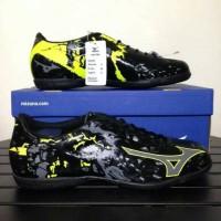 - Sepatu Futsal Mizuno Ryuou IN Black yellow
