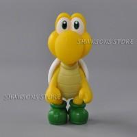 Super Mario Brothers Mainan Anak-anak Hadiah Koopa Troopa Kuning