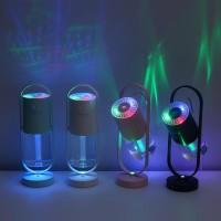 Humidifier Ultrasonic 200ML dengan Lampu LED + Sudut 360 Derajat