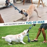 Tworsen Mainan Kunyah Tali Gigit Anti Gigit untuk Anjing