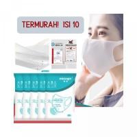 MASKER medis surgical mask disposable 3D 3 ply isi 10 like sensi MURAH