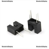 "WBID belle 5 Pcs 1/6"" Slot PCB Photo Interrupter Slotted Optical"
