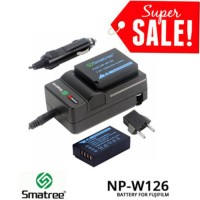 Baterai Fujifilm NP-W126 Smatree