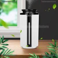 Air Humidifier Ultrasonic Usb 900ml Dengan 7 Warna Lampu Led
