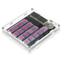 Kalkulator Digital DIY dengan Case Transparan