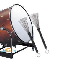 ❃ jakarta1 ❤ Stick Drum Brush Profesional dengan Pegangan