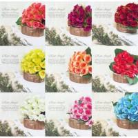 Rose Angel - Bunga grosir artifisial murah- flower artificial dekorasi