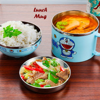 Terlaris Lunch Mug Motif Jepang Makan Rantang Sekolah-RANDOM