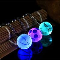 Gantungan Kunci Bola Basket dengan Lampu LED untuk Hadiah Natal