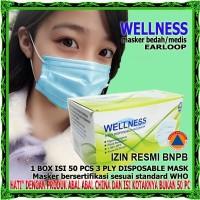 Masker 3Ply Medis Bedah 3 Ply Earloop Surgical