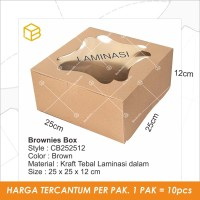 Dus Kue Cake Box Kotak Packaging Kemasan - CB252512