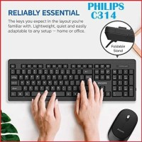 Keyboard Mouse Combo Philips C314 C 314 Wireless