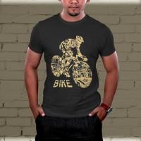 Kaos Bike Sablon DTG