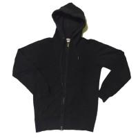 Jaket Zipper Hoodie Pria Wanita Polos Branded Murah UNIQLO 3 Original