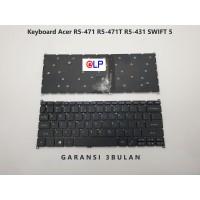 Keyboard Acer Swift 5 USA R5-471 R5-471T R5-431 - Black