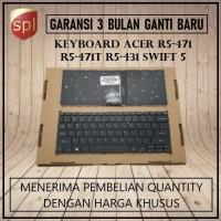 Keyboard Acer Swift 5 R5-471 R5-471T R5-431 USA - Black