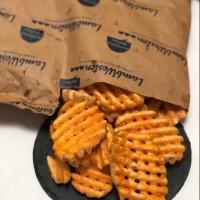 Lambweston Crisscut French Fries Waffle Kentang goreng impor USA 2kg