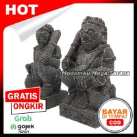 Sepasang Miniatur Patung Arca Gupala Gupolo - T11