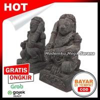 Sepasang Miniatur Patung Arca Gupala Gupolo - T15