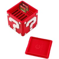 Switch Deluxe Game Card Case (Red)