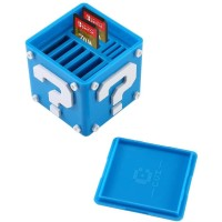 Switch Deluxe Game Card Case (Blue)