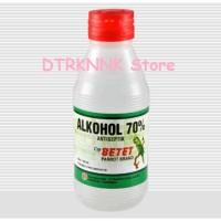 Alkohol 70% Antiseptik Disinfektan Cap Betet 100ml
