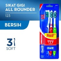 Oral B Sikat Gigi All Rounder S40 3S