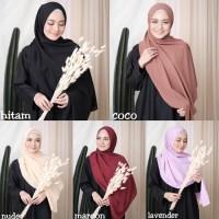 Hijab Pashmina Sabyan Diamond Italiano | Jilbab Krudung Pasmina Murah