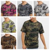 CAMO36 kaos baju loreng katun full printing army camo oblong