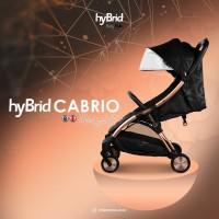 Hybrid Cabrio Ezyfold Stroller Black Rose Gold / Stroller Cabin Size
