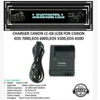 Charger Canon LC-E8 LCE8 For Canon Eos700D, Eos600D, Eos550D,Eos650D