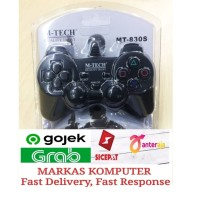 Joystick / Game Pad / Stick PC Laptop Komputer Single Analog Hitam USB