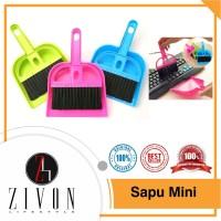 Sapu Mini Sapu Praktis Sapu Kecil Kebersihan Sapu Bebu KQ51
