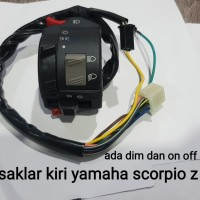 saklar kiri scorpio z on off lampu dan dim switch lampu scorpio z