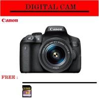 KAMERA CANON EOS 750D 18-55 IS STM / CANON EOS 750D / EOS 750 D