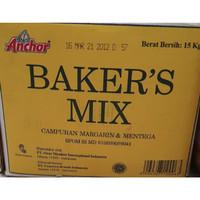 ANCHOR BAKERS MIX BUTTER BLEND REPACK 1 KG