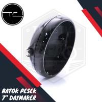 Cover Batok Pesek Lampu Daymaker 7 inch Motor Custom