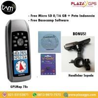 GPS GARMIN 78S + PETA INDONESIA GARANSI TAM