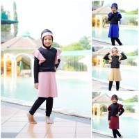 Baju Renang Anak Muslimah Putri Syari Karina by Rocella - Size XS, Tanya Stok Dulu