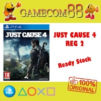 Just Cause 4 Game PS4 Reg 2