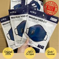 READY!! Bowin Masker N95CV (Masker Kesehatan /Masker Polusi)