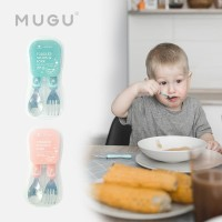 MUGU Toddler Spoon & Fork - Sendok Garpu Anak