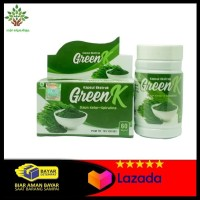 Kapsul Ekstrak Green K Daun Kelor Plus Spirulina Suplemen Makanan
