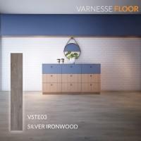 Varnesse Floor Lantai Vinyl STICKER 2.0 mm VSTE03PCS - Silver Ironwood