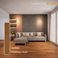 Varnesse Floor Lantai Vinyl STICKER 2.0 mm VSTE02PCS - Adaman Teak