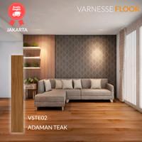 Varnesse Floor Lantai Vinyl STICKER 2.0 mm VSTE02 - Adaman Teak