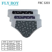 FlyBoy Boys Midi Brief Anchor FBC 3203