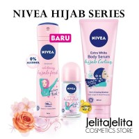 NIVEA Hijab Whitening Cooling Fresh Body Serum / Serum Pemutih